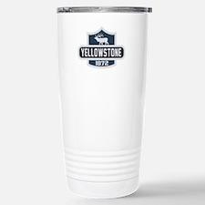 Yellowstone Nature Badge Travel Mug