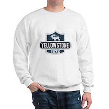 Yellowstone Nature Badge Sweatshirt