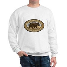 Yellowstone Brown Bear Badge Sweater