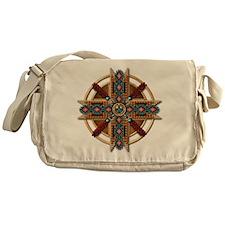 Native American Mandala 01 Messenger Bag