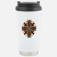 Native American Mandala 01 Travel Mug