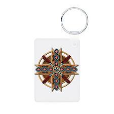 Native American Mandala 01 Keychains
