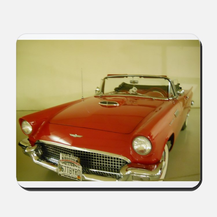 Red 1957 Ford Thunderbird Mousepad