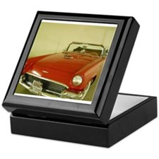 Red 1957 Ford Thunderbird Keepsake Box