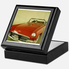 Red 1957 Ford Thunderbird Keepsake Box