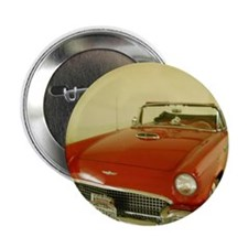 """Red 1957 Ford Thunderbird 2.25"""" Button"""