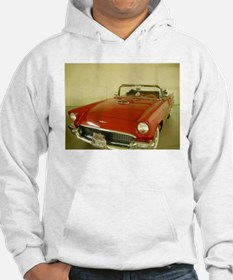 Red 1957 Ford Thunderbird Hoodie