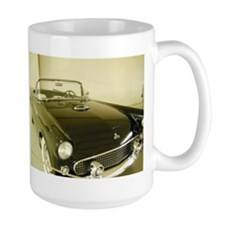 Black 1955 Ford Thunderbird Mug