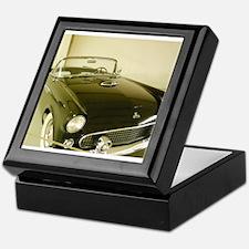 Black 1955 Ford Thunderbird Keepsake Box