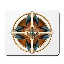 Native American Mandala 02 Mousepad
