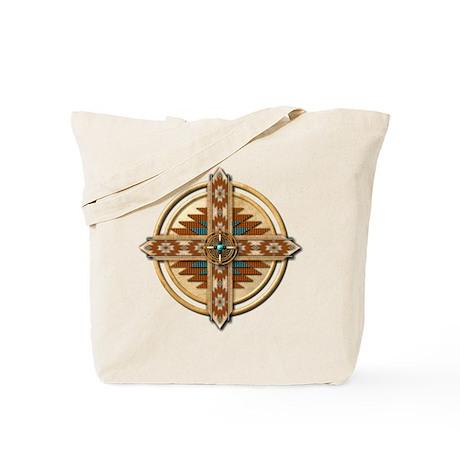 Native American Mandala 03 Tote Bag