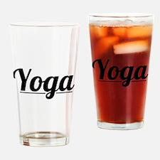 Yoga Classic Drinking Glass