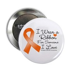 """Ribbon Someone I Love MS 2.25"""" Button (10 pack)"""