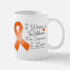 Ribbon Someone I Love MS Small Small Mug