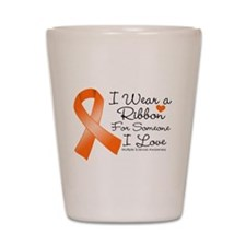 Ribbon Someone I Love MS Shot Glass
