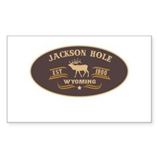 Jackson Hole Belt Buckle Badge Decal
