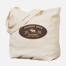 Jackson Hole Belt Buckle Badge Tote Bag