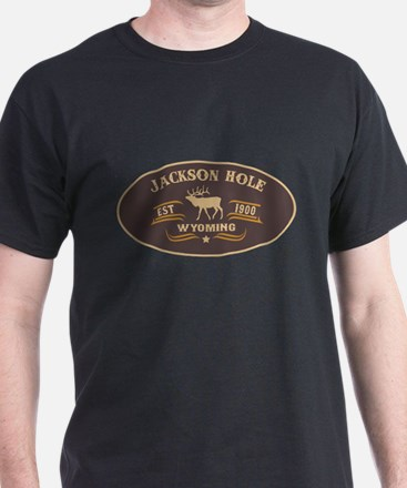 Jackson Hole Belt Buckle Badge T-Shirt