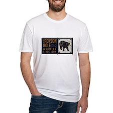 Jackson Hole Black Bear Badge Shirt