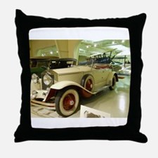 1929 Rolls Royce Throw Pillow