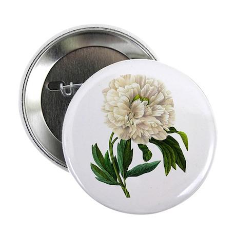 "Pierre-Joseph Redoute Botanical 2.25"" Button"