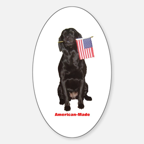 american-made Oval Decal