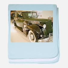 1939 Packard Car baby blanket