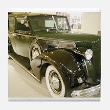1939 Packard Car Tile Coaster