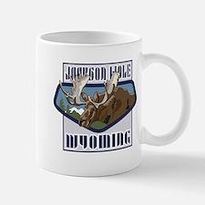 Jackson Hole Mountaintop Moose Mug