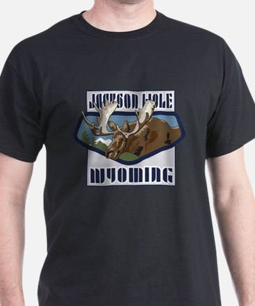 Jackson Hole Mountaintop Moose T-Shirt