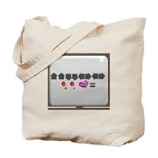 Up up down down Love 2 Player Tote Bag