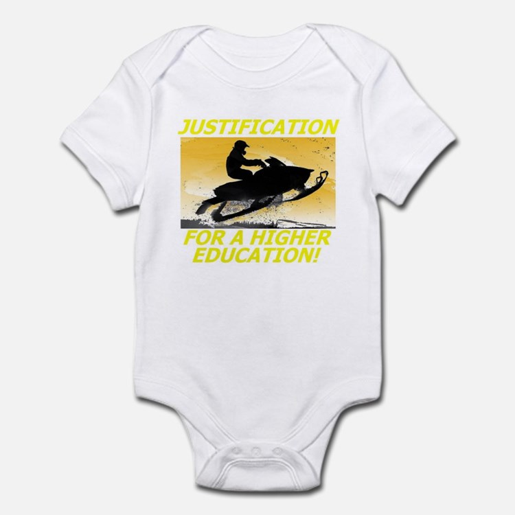 JUSTIFICATION FOR A HIGHER ED Infant Bodysuit