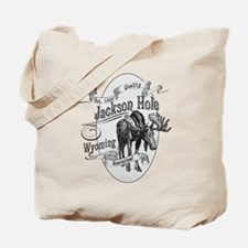 Jackson Hole Vintage Moose Tote Bag