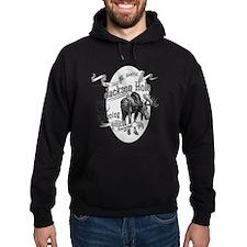 Jackson Hole Vintage Moose Hoodie