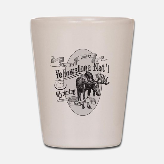 Yellowstone Vintage Moose Shot Glass