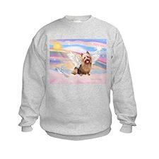 Aussie Terrier Angel Sweatshirt