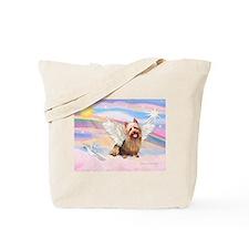 Aussie Terrier Angel Tote Bag