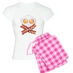 Skull and Bacon Women's Light Pajamas