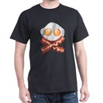 Skull and Bacon Dark T-Shirt