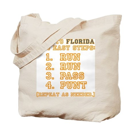 How To Lose To Florida Tote Bag