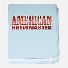 American Brewmaster Home Beer Brewing baby blanket