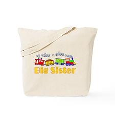 Big Sister Choo Choo Train Tote Bag