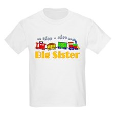 Big Sister Choo Choo Train T-Shirt