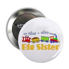 "Big Sister Choo Choo Train 2.25"" Button"