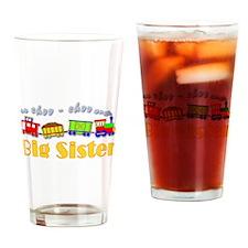 Big Sister Choo Choo Train Drinking Glass