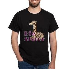 Big Sister Baby Giraffe T-Shirt