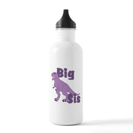 Big Sis Purple Dinosaur Stainless Water Bottle 1.0