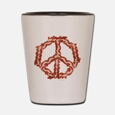 Peace with Bacon Shot Glass