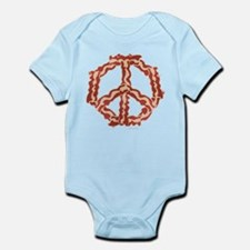 Peace with Bacon Infant Bodysuit