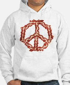 Peace with Bacon Hoodie